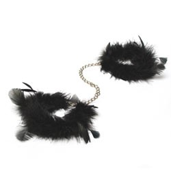 Bijoux Indiscrets Za Za Zu Luxury Feather Handcuffs
