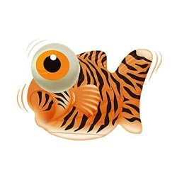 Big Teaze Toys | I Rub My Fishie Tiger | Waterproof Vibrator