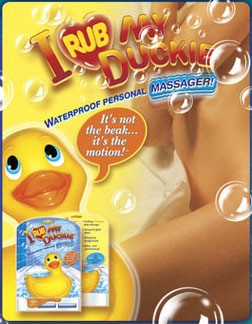 Big Teaze Toys | I Rub My Duckie | Waterproof Vibrator