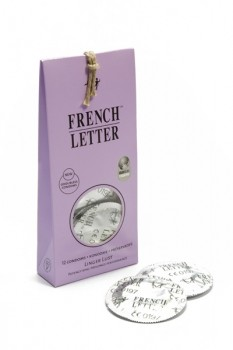French Letter Fair Trade Condoms Linger Lust x12