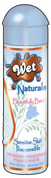 WET Naturals Beautifully Bare Personal Lubricant